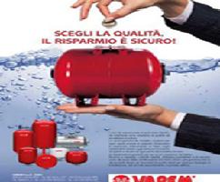 Nguồn gốc thương hiệu bình tích áp Varem.Chính sách công ty về chất lượng sản phẩm .